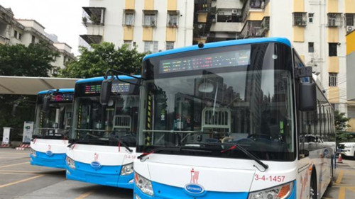 Hydrogen Fuel Cell Bus - Fuel Cell Coating - Cheersonic