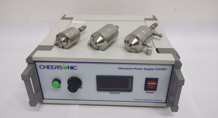 Ultrasonic Nozzle Technology - Spray On Membrane - Cheersonic